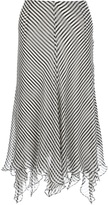 Ralph Lauren Blue Label striped layered skirt