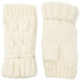 Forever 21 FOREVER 21+ Ribbed Knit Fingerless Gloves