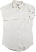 Saint Laurent White Cotton Shirts