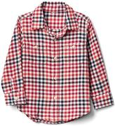 Gap Red check flannel shirt