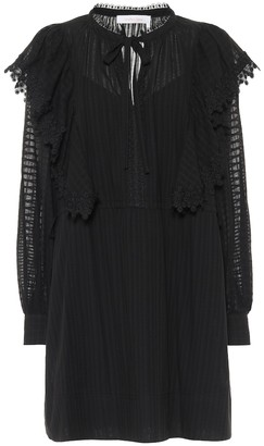 See by Chloe Cotton-voile minidress