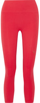 Lucas Hugh Technical Knit Stretch Leggings - Red