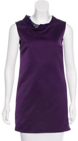 3.1 Phillip Lim Embellished Satin Dress