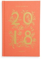 Rifle Paper Co. 2018 Coral Tabbed Agenda - Red