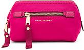 Marc Jacobs Trooper Framed Big Bliz Cosmetic Bag in Fuchsia.