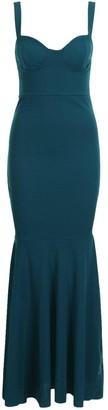 boohoo Fitted Fishtail Maxi Bridesmaid Dress