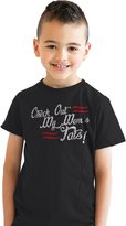 Crazy Dog T-shirts Crazy Dog Tshirts Youth Check Out My Moms Tats Funny Tattooed Mom T shirt for Kids M