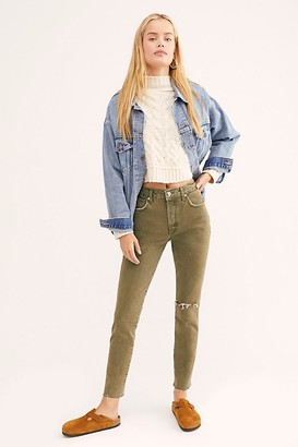 We The Free Stella Skinny Jeans by at Free People, Always Blue, 24