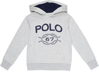 Polo Ralph Lauren Kids Cotton-blend hoodie
