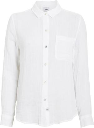 Rails Hadley Cotton Gauze Button-Down Shirt
