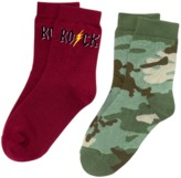 Crazy 8 Rock Socks 2-Pack
