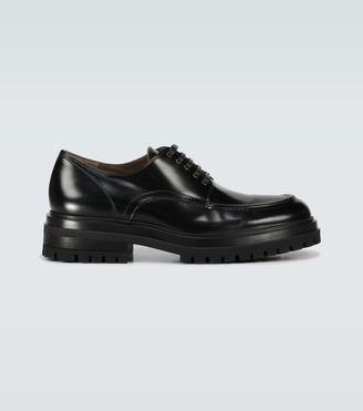 Gianvito Rossi Exclusive to Mytheresa - Kirk leather derby shoes