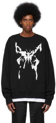 Nahmias SSENSE Exclusive Black Butterfly Sweatshirt