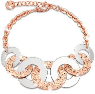 Rebecca R-ZERO Rose Gold Over Bronze Bracelet