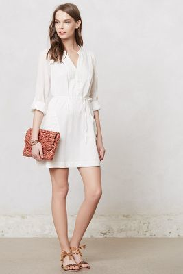 Anthropologie Maeve Embroidered Verity Tunic