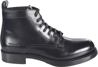 DSQUARED2 Flat Lace-up Ankle Boots