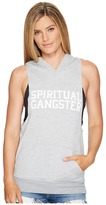 Spiritual Gangster SG Varsity Muscle Hoodie