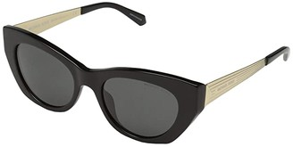Michael Kors 55 mm Paloma II MK2091 (Black/Dark Grey Solid) Fashion Sunglasses