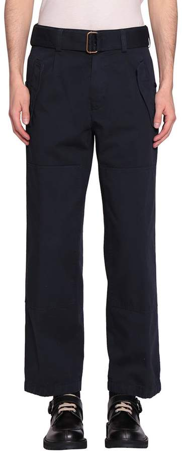 Dries Van Noten Pyle Cotton Pants