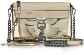 Rebecca Minkoff Mirrored Metallic Mini M.A.C. Crossbody Bag