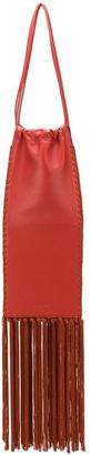 Jil Sander Long Fringed Shoulder Bag
