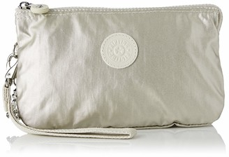 Kipling Women's Creativity XL Coin Purse 21.5 x 13.5 x 4 cm Grey Size: One Size Fits All