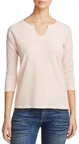 Lilla P Split Neck Thermal Tee