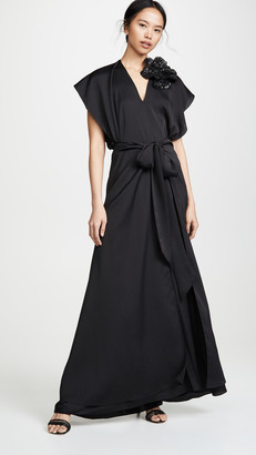 Nina Ricci Fluid Seersucker Dress