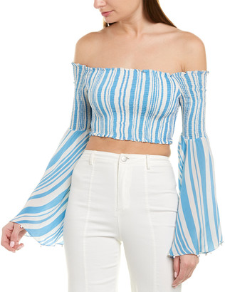 Rococo Sand Off-The-Shoulder Top