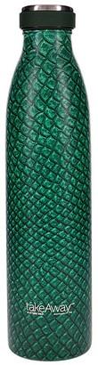 TakeAway Edit Double Wall Stainless Steel Water Bottle 750ml Reptile Green