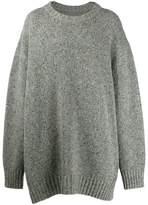 Maison Margiela oversized chunky knit sweater