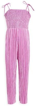 Bardot Junior Girl's Shine Culotte Jumpsuit