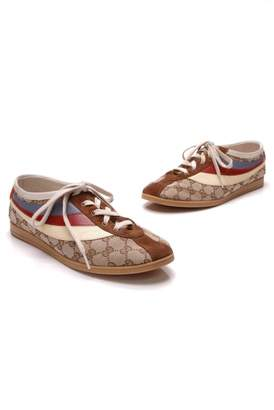 Gucci Falacer Beige Cloth Trainers