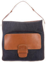 Marc Jacobs Denim & Leather Tote