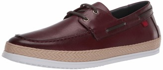 Marc Joseph New York Men's Leather Luxury Deck Shoe with Rope Detail Boat