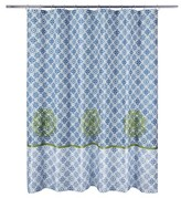 Nobrand No Brand Rajasthan Shower Curtain - Blue (Print) - Allure