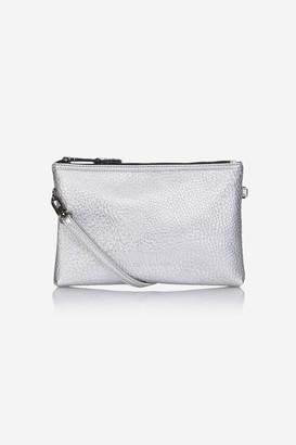 Tiba + Marl Tm Silver Cross Body Bag
