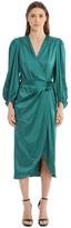 Jonathan Simkhai Classic Woven Satin Wrap Dress