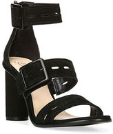Fergie Open-Toe Suede Sandals