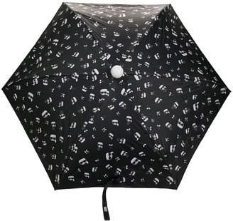 Karl Lagerfeld Paris Mascot-Print Umbrella
