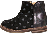 Pom D'Api Polka Dot Printed Suede Ankle Boots