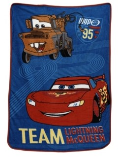 Disney Car's Super Soft Coral Fleece Toddler Blanket Bedding