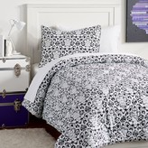 Pottery Barn Teen Decorator Damask Value Comforter Set, Black