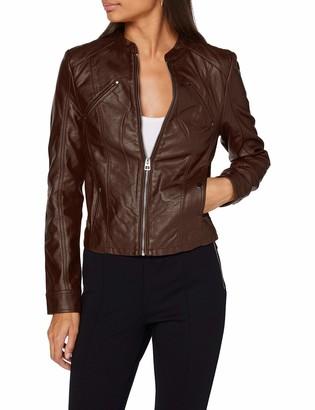 Vero Moda Women's VMFAVODONA COATED JACKET Faux Leather