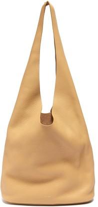 The Row 'Bucket Hobo' Top Handle Leather Shoulder Bag