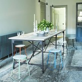 Graham and Green Iron And Mango Wood Dining Table