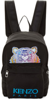 Kenzo Black Limited Edition Embroidered Tiger Backpack