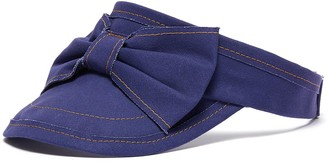 Bernstock Speirs Contrast stitch bow visor