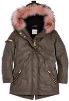 SAM. Girls' Fur-Trimmed Parka