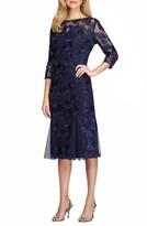 Alex Evenings Women's Lace Midi Dress
